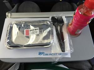 セブパシの機内食