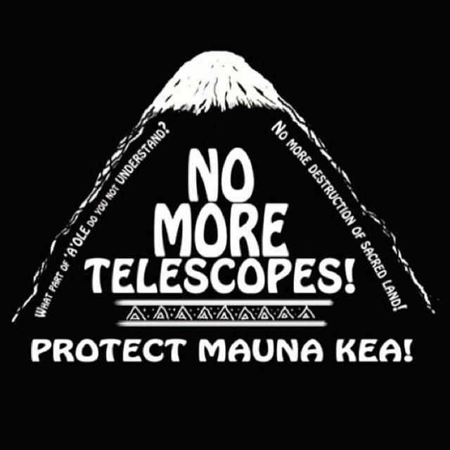 ハワイの望遠鏡