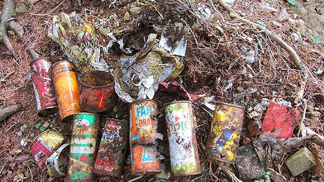 不燃性のゴミ
