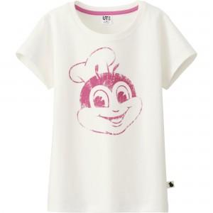 フィリピンのユニクロからジョリビーTシャツ