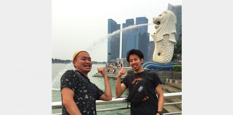 シンガポールでの想い出