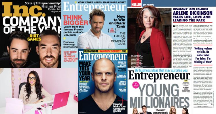 世界の起業家