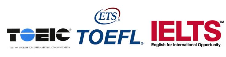 TOEIC・TOEFL・IELTSも別料金で可能