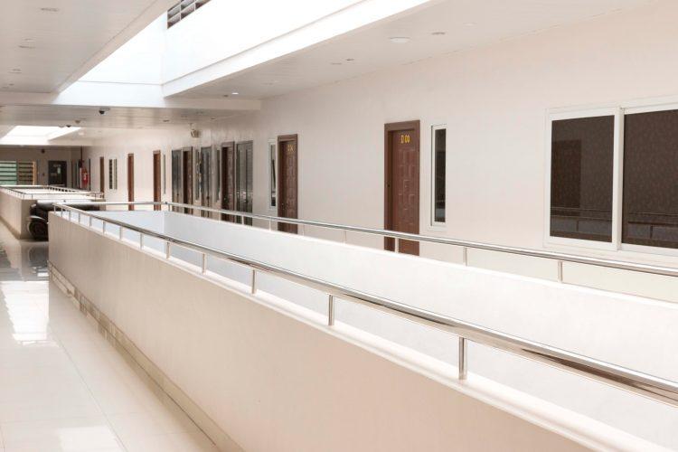 いつもきれいな廊下