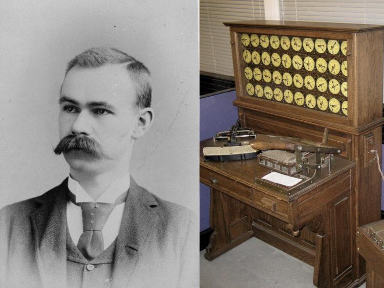 ホレリス式タビュレーティングマシンとハーマン・ホレリス
